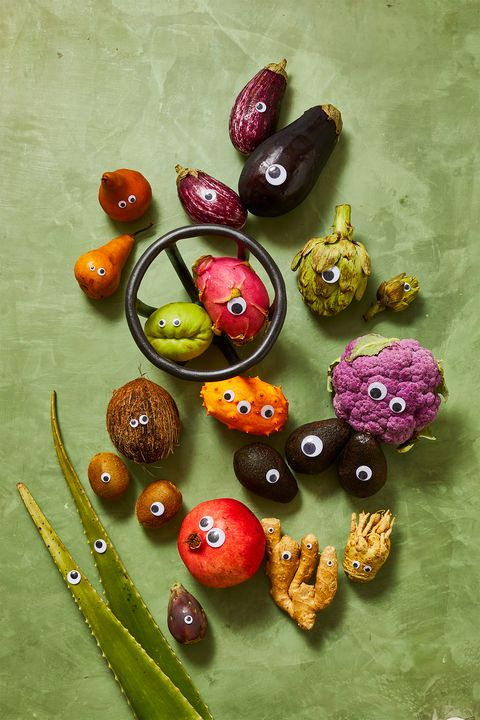 veggie halloween craft