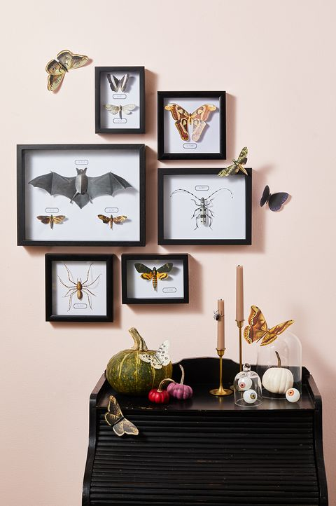 halloween bug art decorations