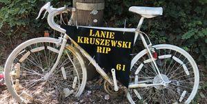 Lanie Kruszewski ghost bike