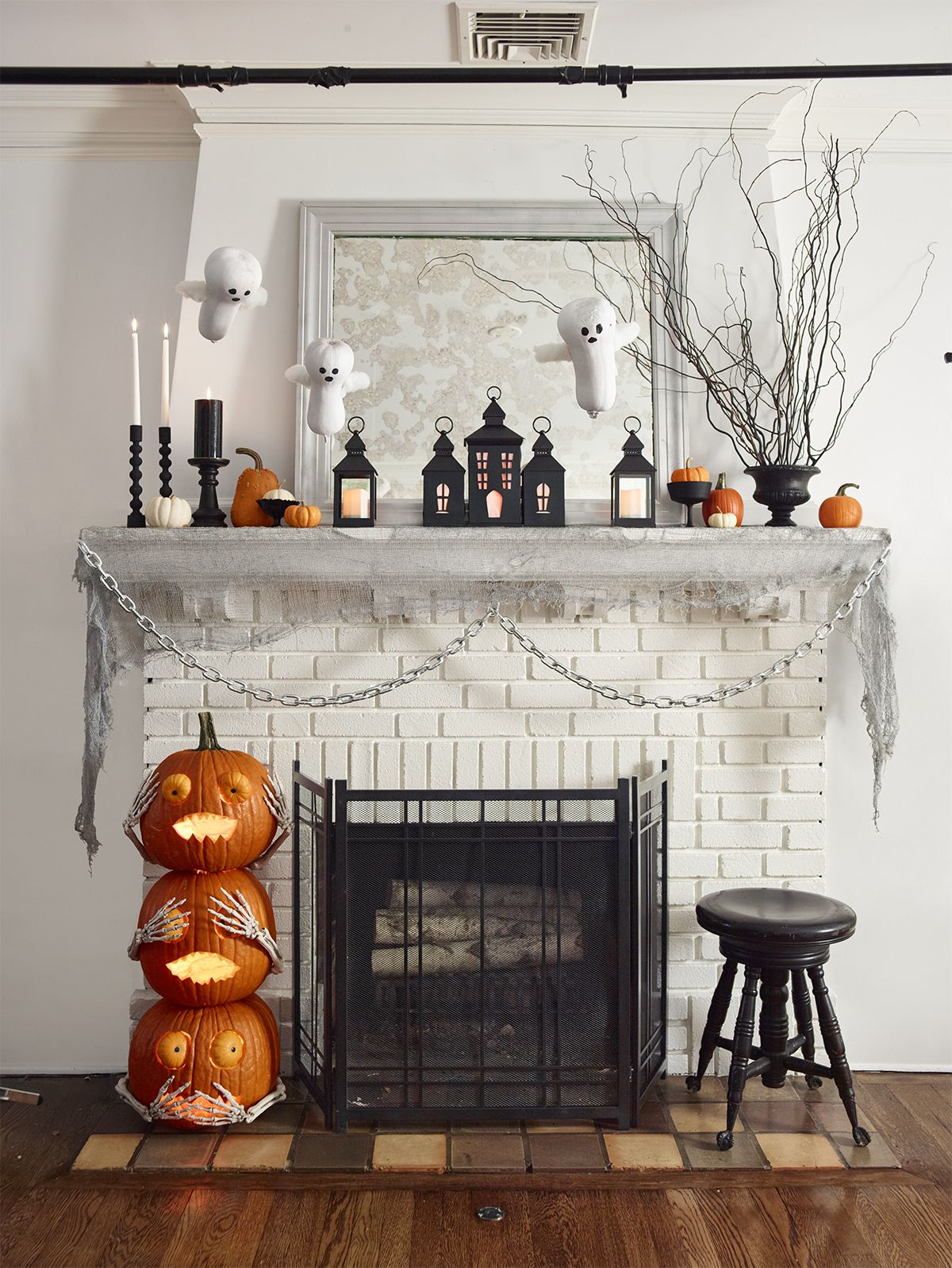 50 DIY Halloween Decorations , How to Make Halloween Decorations