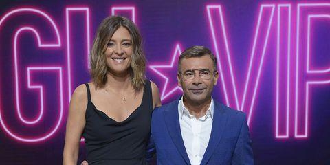 Sandra Barneda y Jorge Javier Vázquez durante la presentación de GH VIP 6