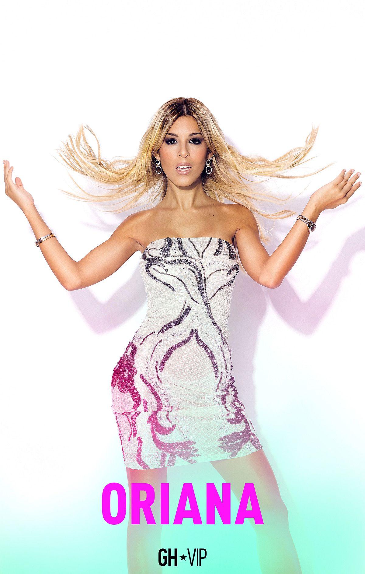 Oriana Marzoli en su foto oficial de GH VIP 6