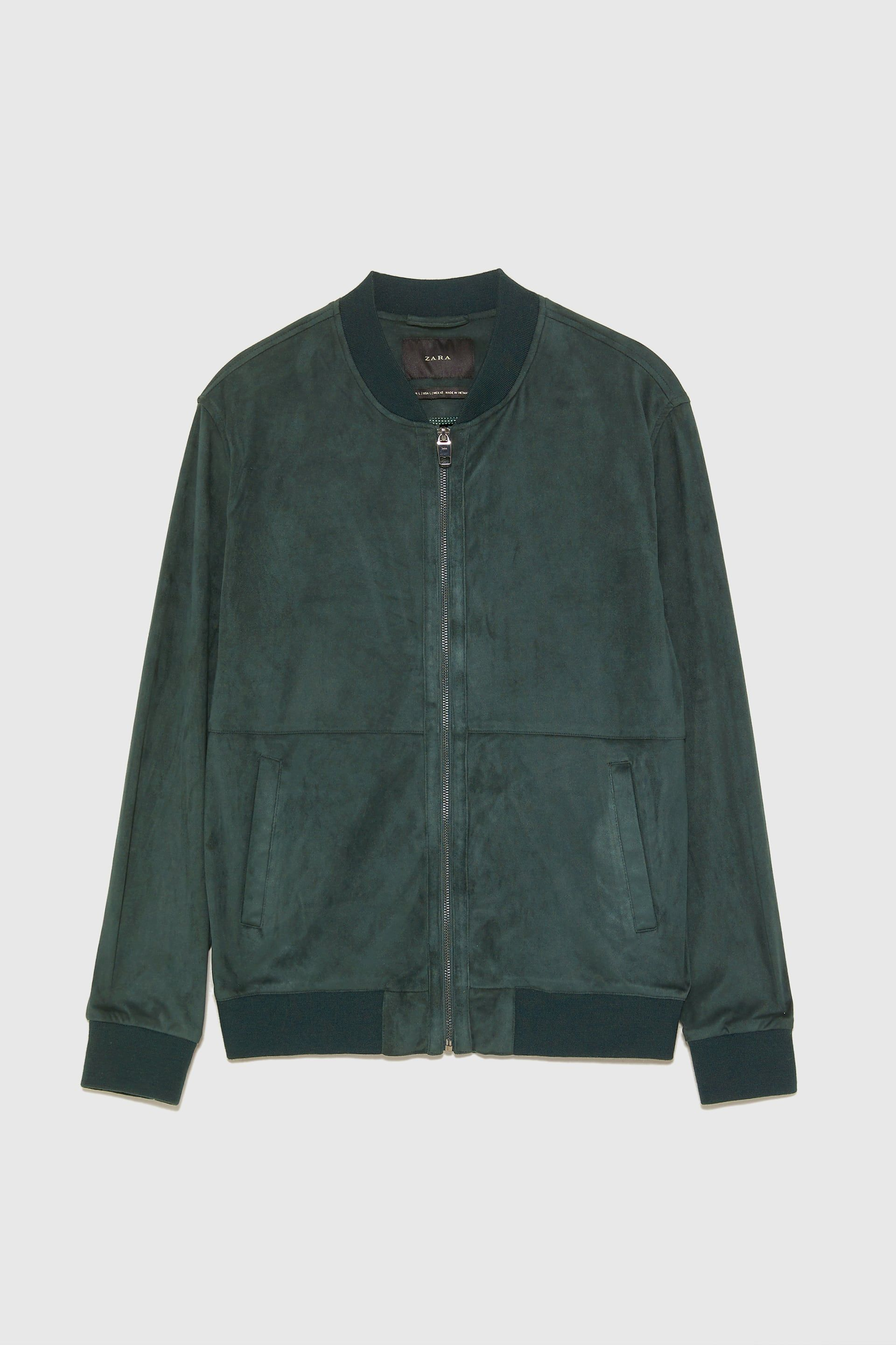 Giacca Bomber Sartoriale In Camoscio Tommy Hilfiger (With