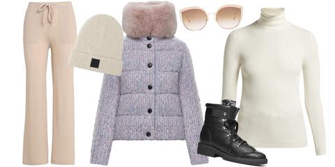 White, Clothing, Outerwear, Fashion, Footwear, Jacket, Sleeve, Sweater, Coat, Shoe,