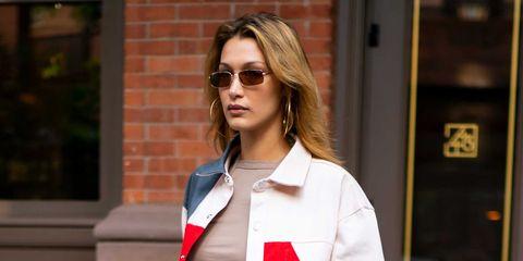 best loved 9eaa3 5d614 Bella Hadid sfodera la giacca (Diesel) dell'estate 2019
