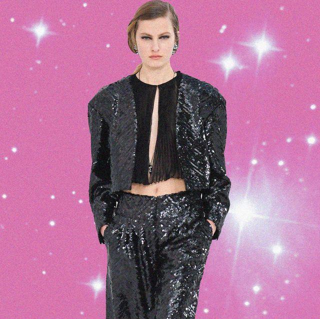 giacca paillettes moda primavera 2021