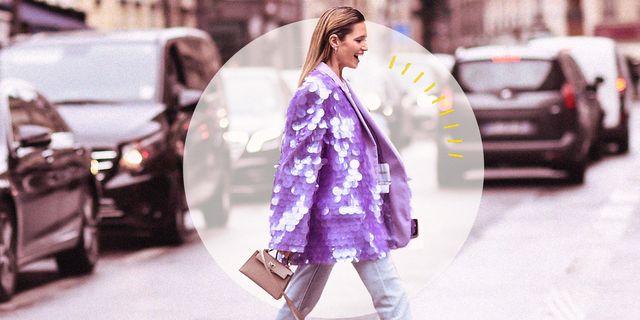 guarda gli outfit più belli da cerimonia con giacca paillettes e scopri i modelli glitterati, dorati o argentati da sfoggiare in un'occasione importante
