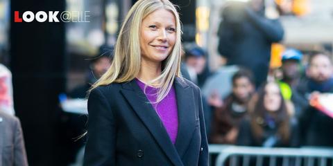 Giacche moda 2019:lo smoking di Gwyneth Paltrow è tendenza
