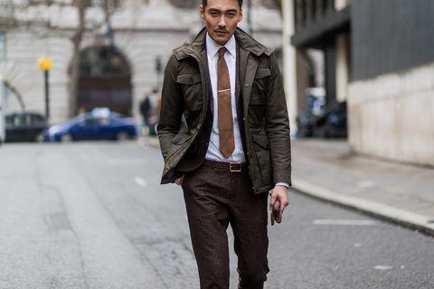 Street Style - Day 3 - LFW Men's January 2017