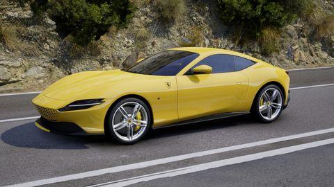 2020 Ferrari Roma in Giallo Modena