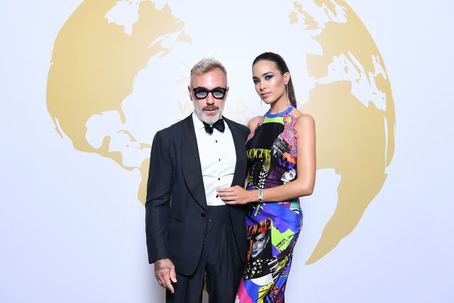 cannes, france   may 24 gianluca vacchi and sharon fonseca attend theinaugural world bloggers awards during the 72nd annual cannes film festival on may 24, 2019 in cannes, france the world bloggers awards is the world's first ever awarding ceremony for the best bloggers across 22 nominations it unites and celebrates influencers and opinion leaders from around the world in various fields, taking their social input to the higher level photo by daniele venturelligetty images