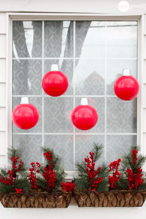 giant ornament window decorations