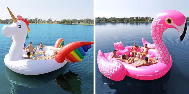 These Party Bird Island Floats Are So Giant They Can Fit