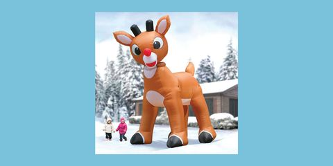 Animated cartoon, Reindeer, Toy, Deer, Stuffed toy, Animal figure, Animation, Fawn, Games, Plush,