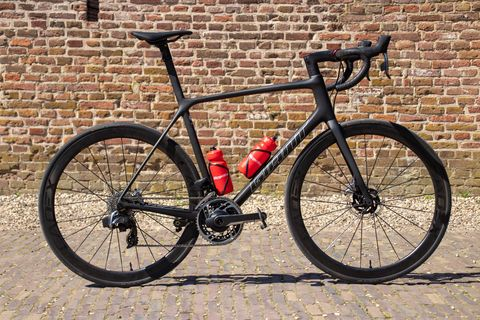 giant, tcr, advanced, sl, 0, disc, racefiets, bicycling