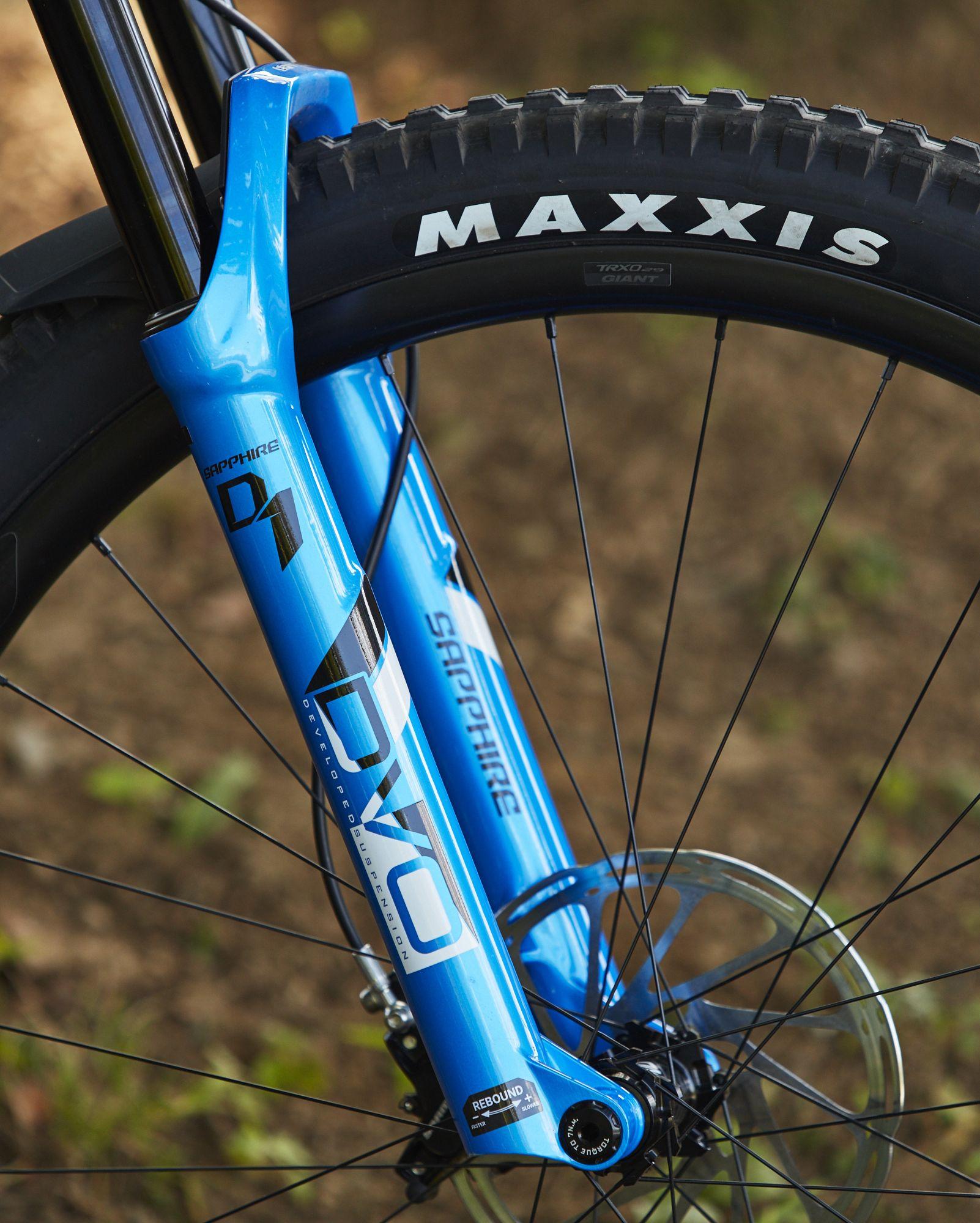 Giant Trance front wheel