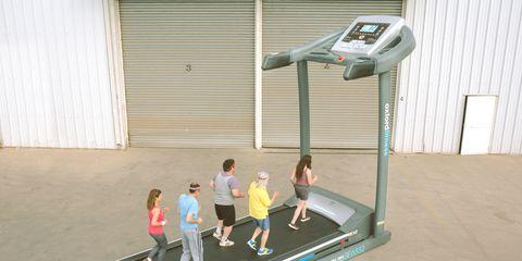 Oxford Fitness' giant treadmill