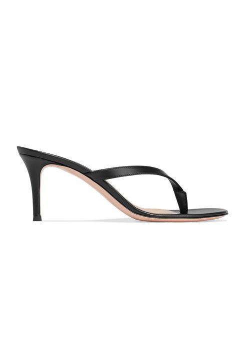 gianvito rossi heeled flip-flops