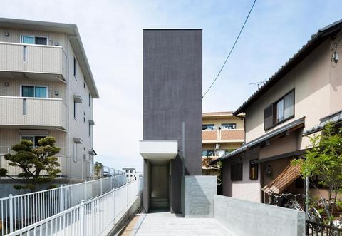 Property, Architecture, Neighbourhood, Stairs, Real estate, Building, Facade, Residential area, Apartment, Fixture,