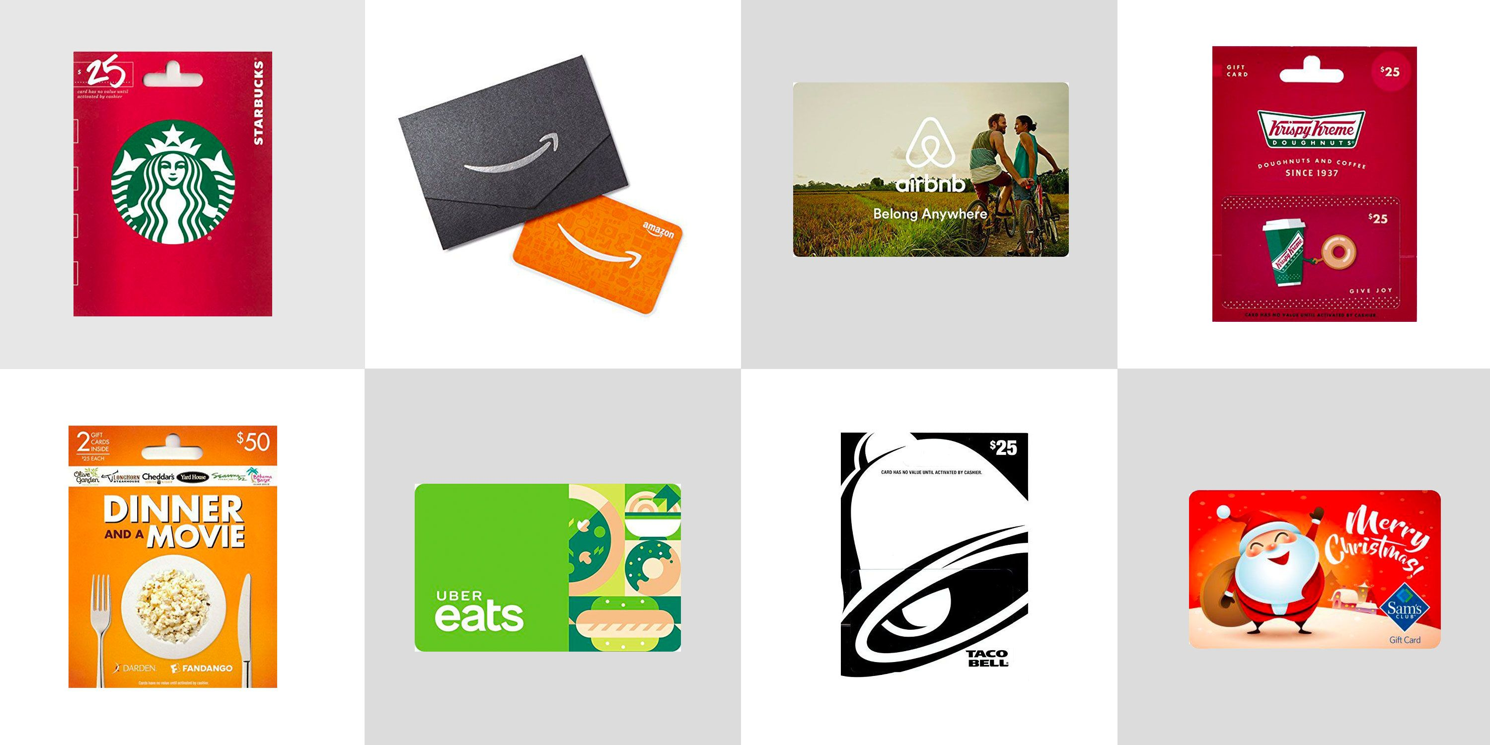 20 Best Gift Cards Easy Last Minute Gifts