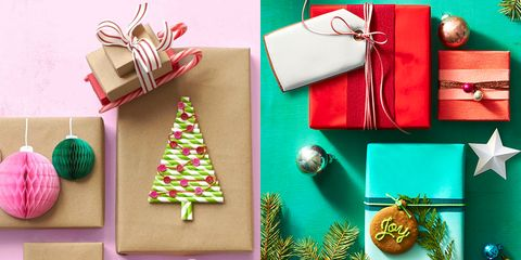 diy gift wrap ideas - Christmas Present Decoration