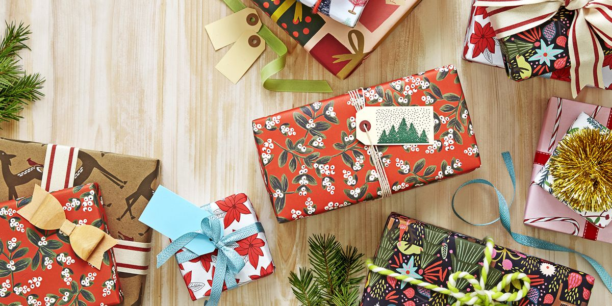 dfbe5d1f 39 Unique Gift Wrapping Ideas for Christmas - How to Wrap Holiday Presents