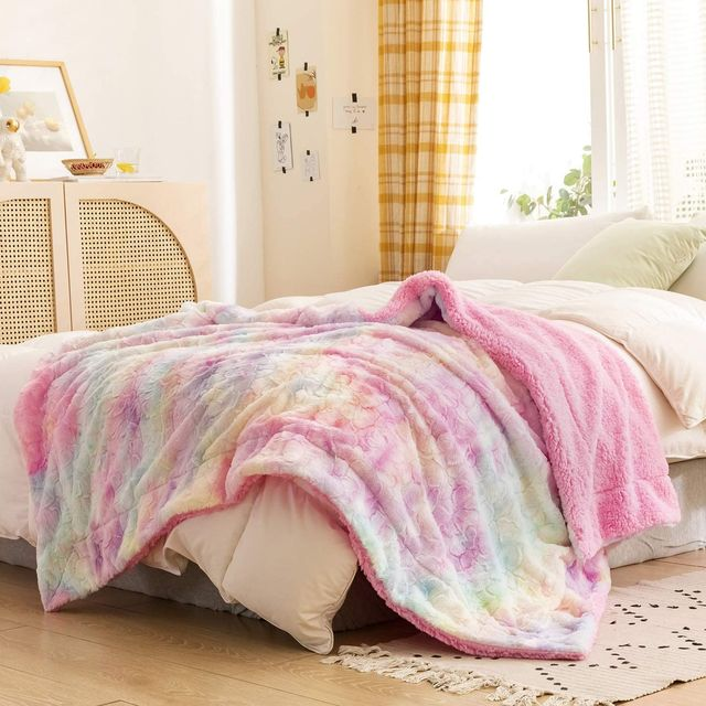 gifts for 11 year old girls faux fur throw