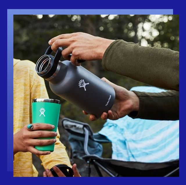 hydro flask and watch