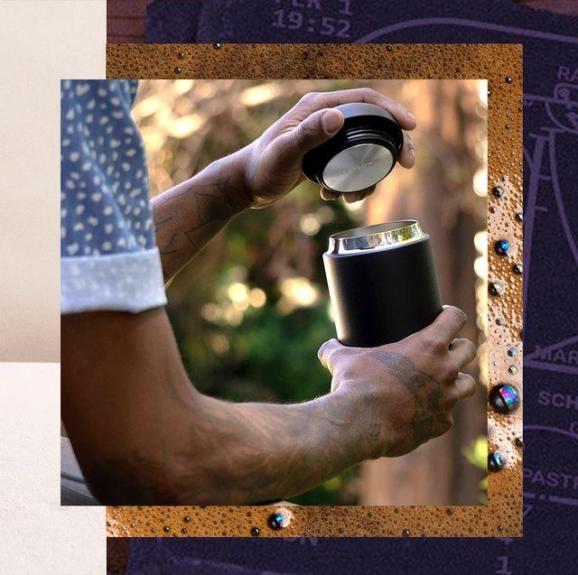 portable fire pit, travel coffee mug, slate coasters