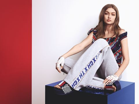 069b85740 Gigi Hadid Stars in Tommy Hilfiger s Spring 2018 Collection Campaign ...