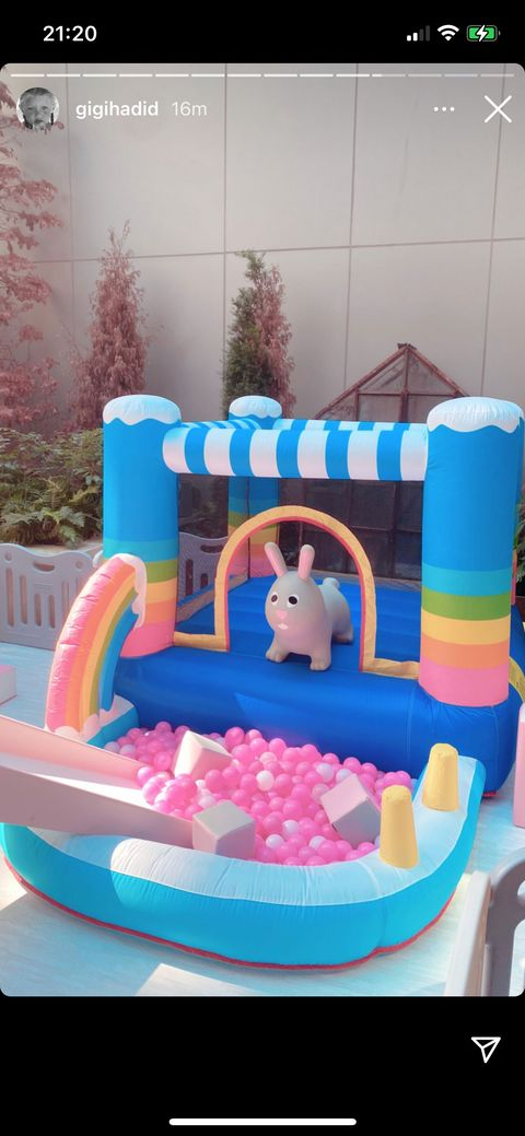 gigi hadid's photos of khai's first birthday
