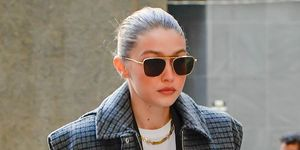 Gigi Hadid bij de rechtbank in New York