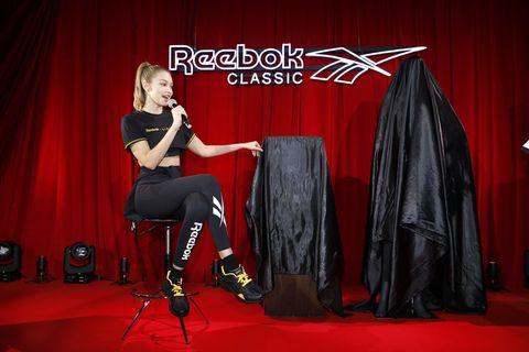 Gigi Hadid Reebok collaboration