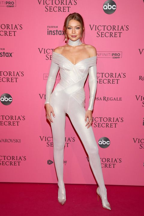 Victoria's Secret pink carpet