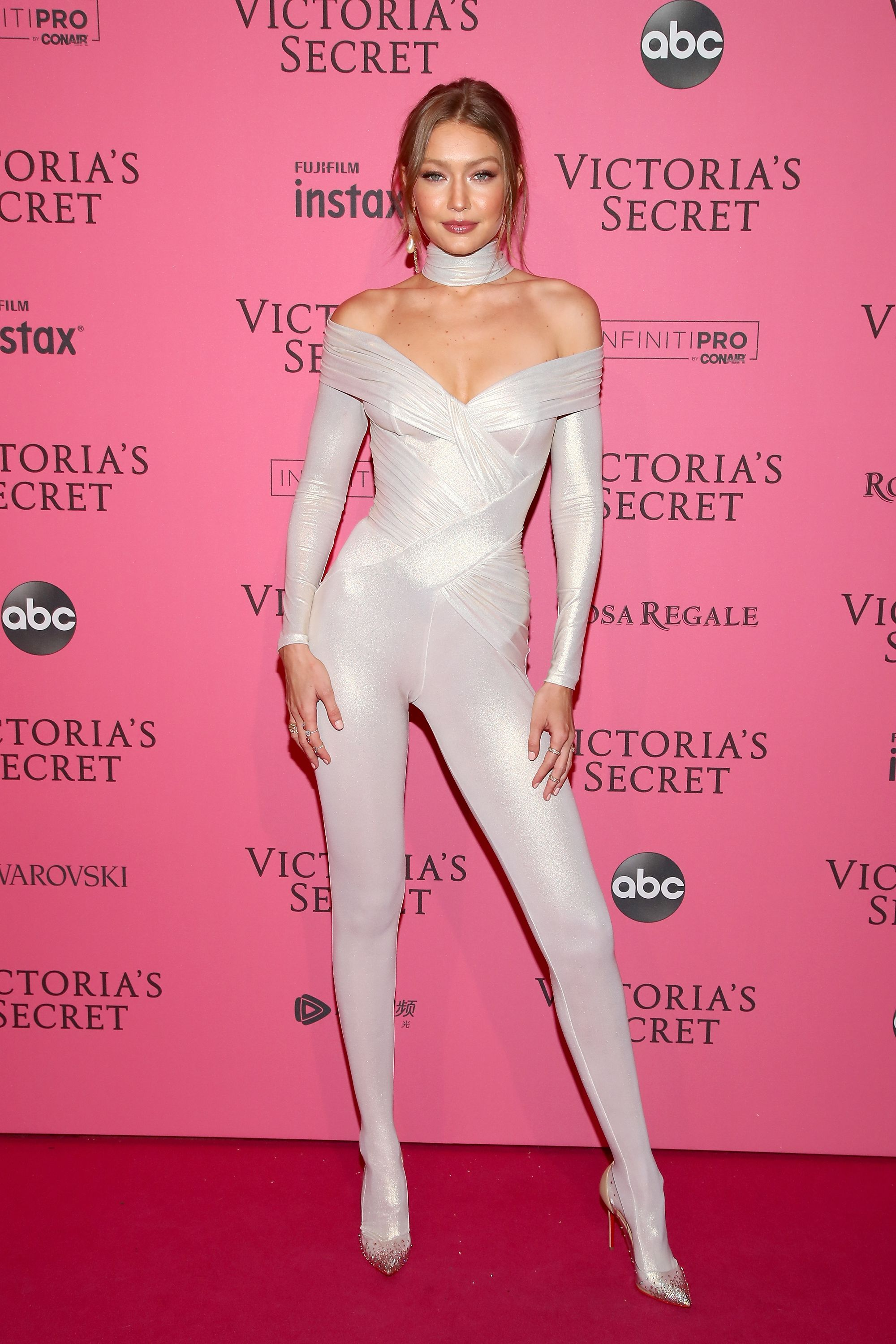 351a744ca7 All the Naked Dresses at the Victoria s Secret Fashion Show After-Party 2018
