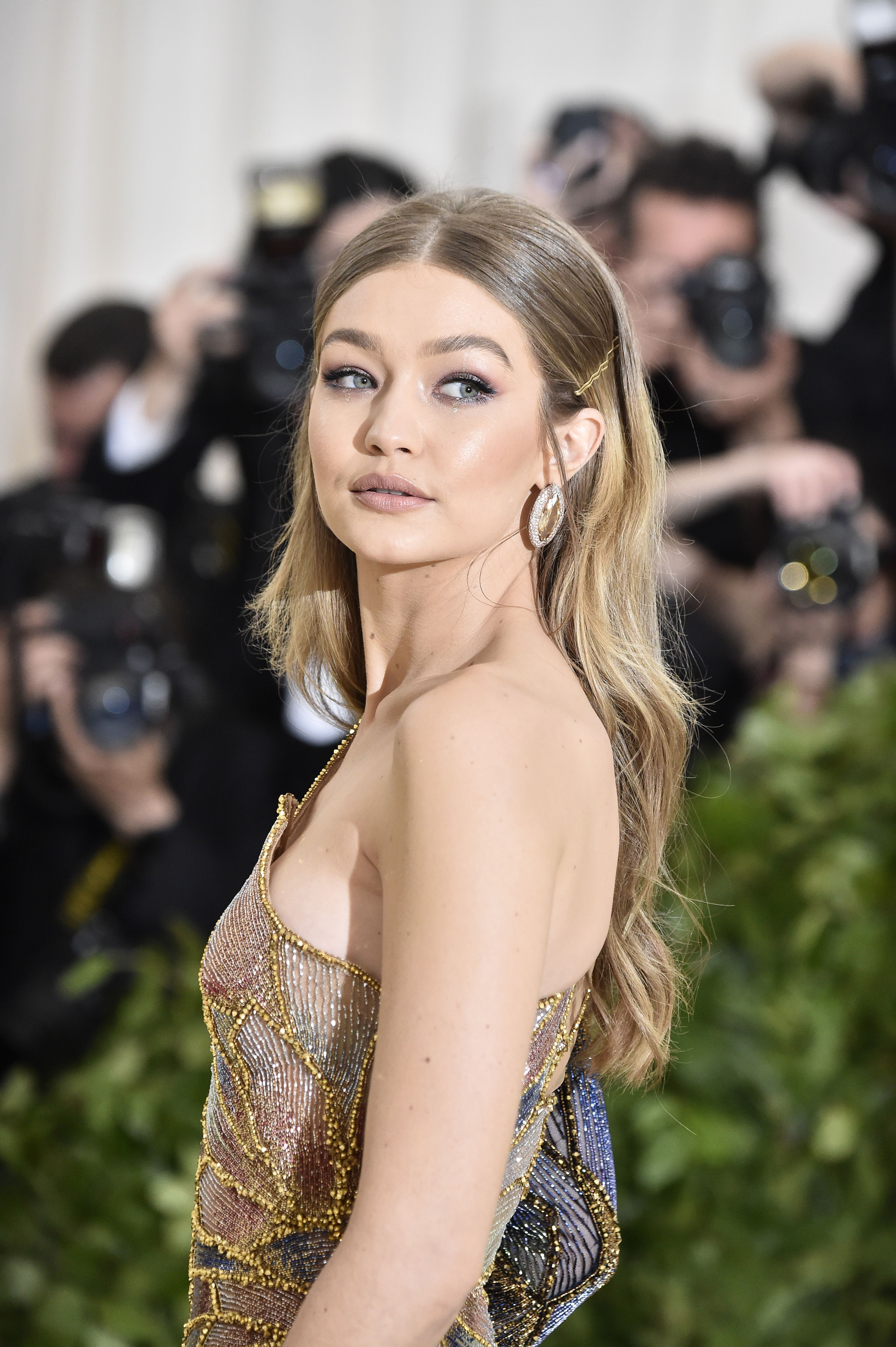 Gigi Hadid's Unseen Photos From Fashion Month