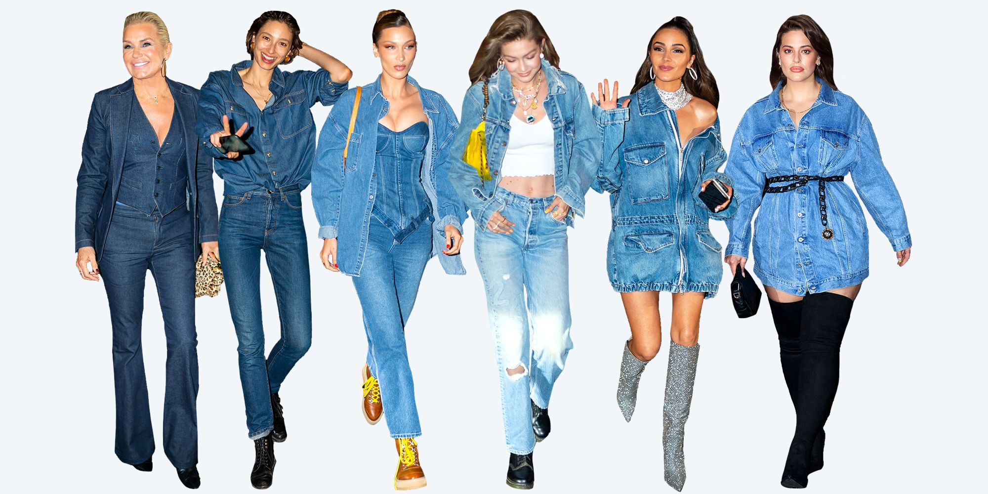 eedfa44ec03 What Gigi Hadid s Denim-Themed 24th Birthday Party Was Like - What Taylor  Swift and Every Guest Wore