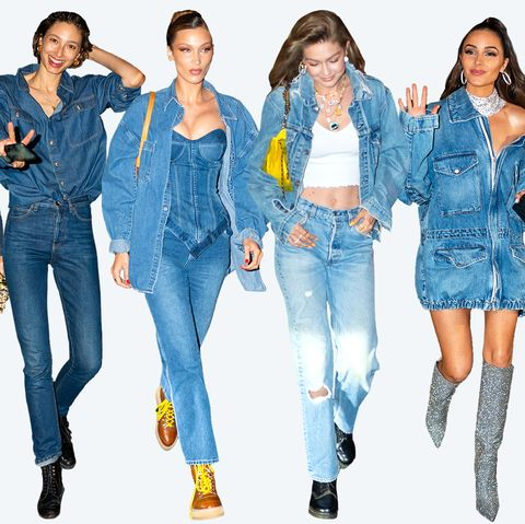 a78faa56a84 What Gigi Hadid's Denim-Themed 24th Birthday Party Was Like - What ...