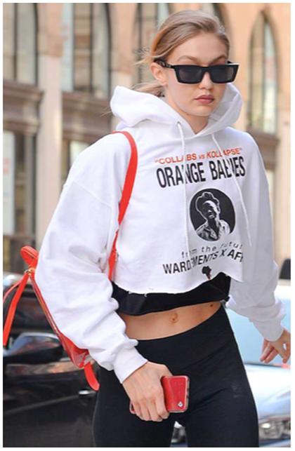 Clothing, White, Hoodie, Street fashion, Hood, Outerwear, Eyewear, Sleeve, Fashion, Sunglasses,