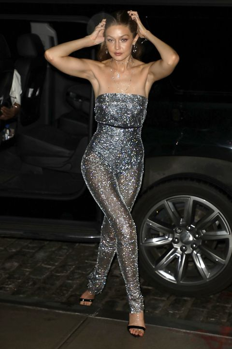 Gigi Hadid Wore A Sparkly Naked Jumpsuit To Messikas New York Fashion Week Party-2193