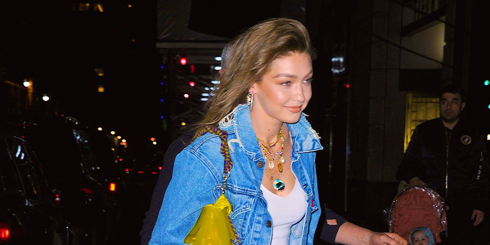 Gigi Hadid's denim themed birthday party