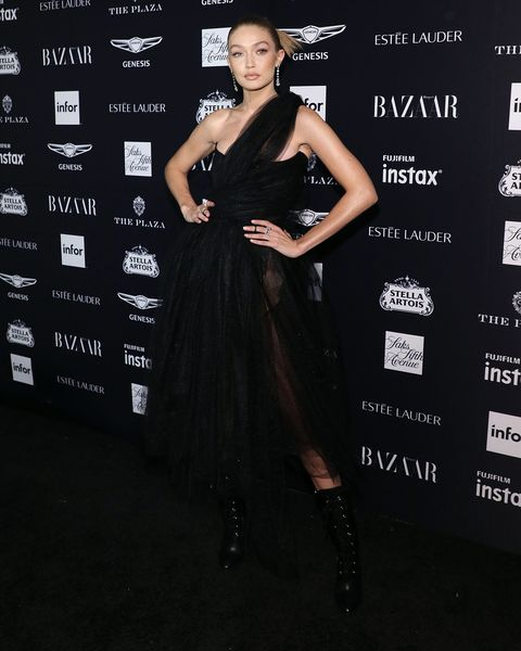 harpers bazaar icons party red carpet outfits celebrity