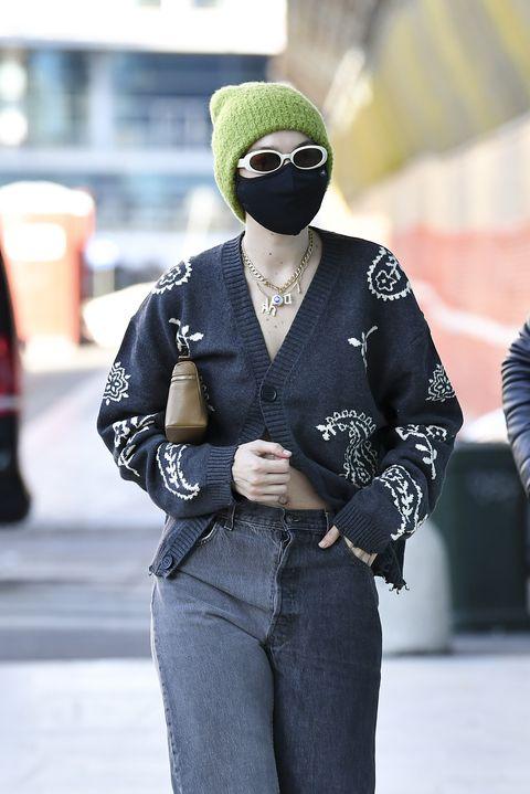 celebrity sightings february 28   milan fashion week fallwinter 20212022