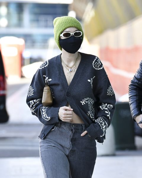 celebrity sightings february 28  milan fashion week fallwinter 2021 2022