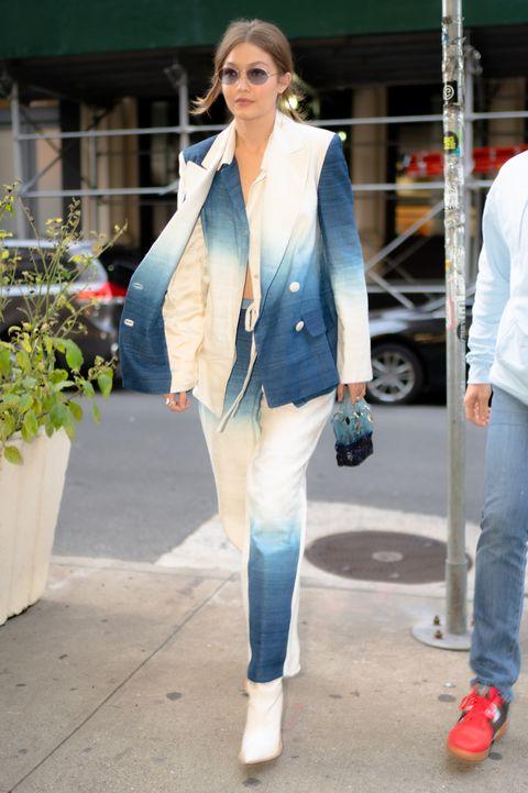 Celebrity Sightings In New York City - October 19, 2019