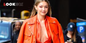 Gigi Hadid look polo Ralph Lauren moda 2019