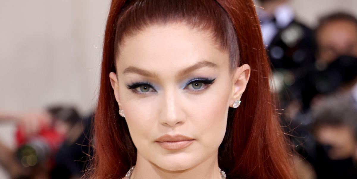 Gigi Hadid Met Gala 2021 Makeup: Maybelline Falsies Mascara