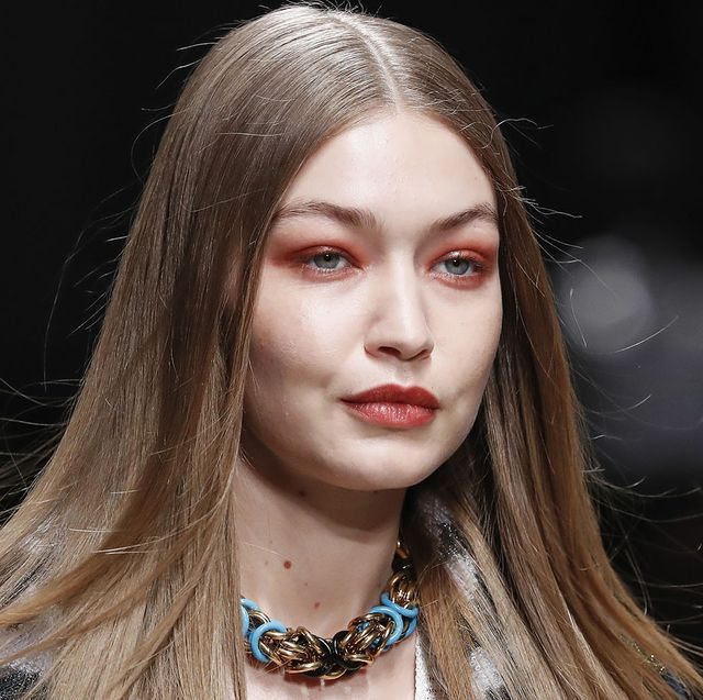 milan, italy – february 22nd  gigi hadid headshot detail during the missoni fashion show as part of milan fashion week fallwinter 2020 2021 on february 22, 2020 in milan, italyphoto by estropgettyimages