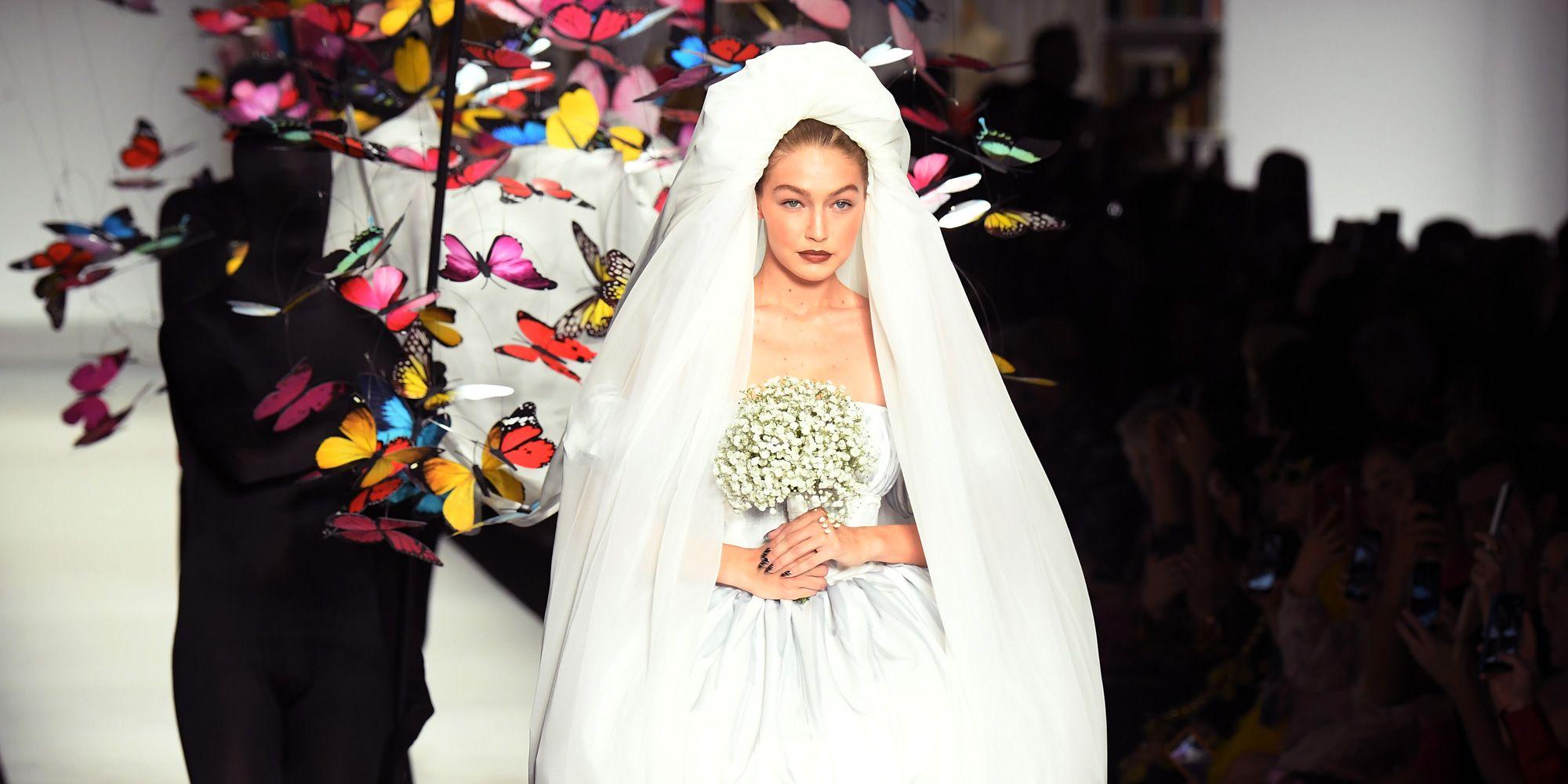 Gigi Hadid, Moschino, MFW, Milano, settimana della moda, Vogue, bella hadid