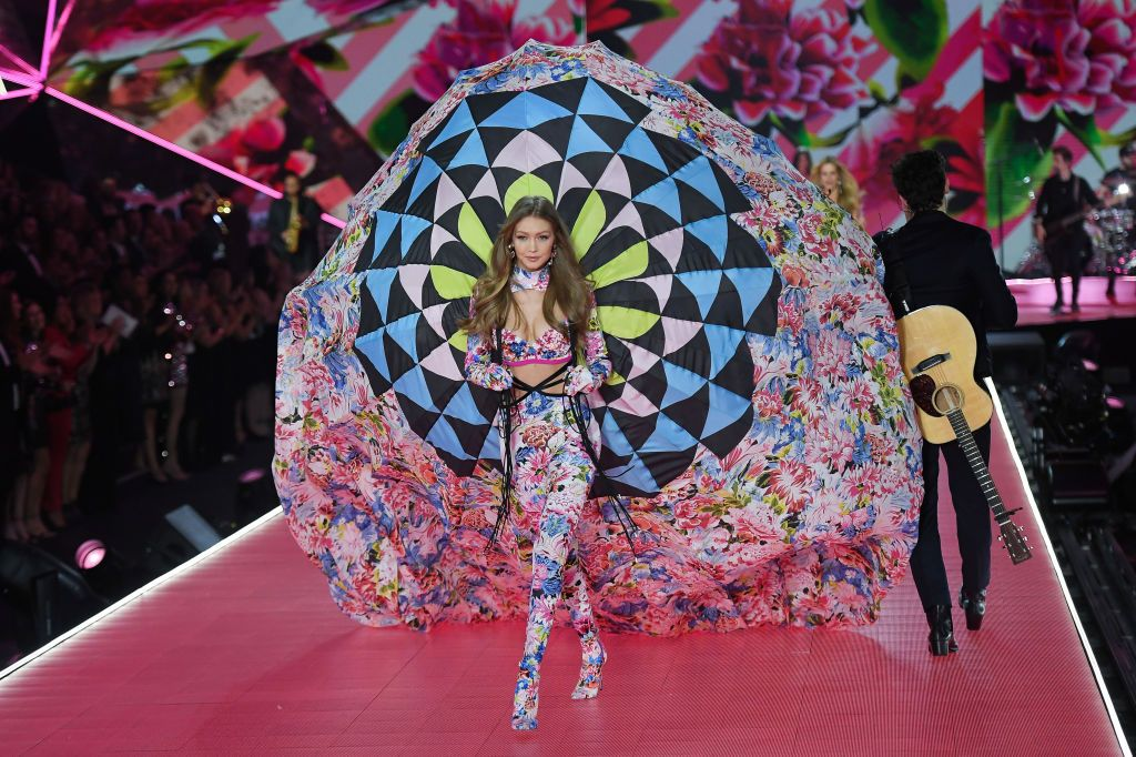 4789f60d1 See Gigi Hadid at the Victoria s Secret Fashion Show 2018